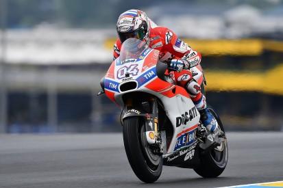 MotoGP Le Mans: Andrea Dovizioso leads Marc Marquez in FP2