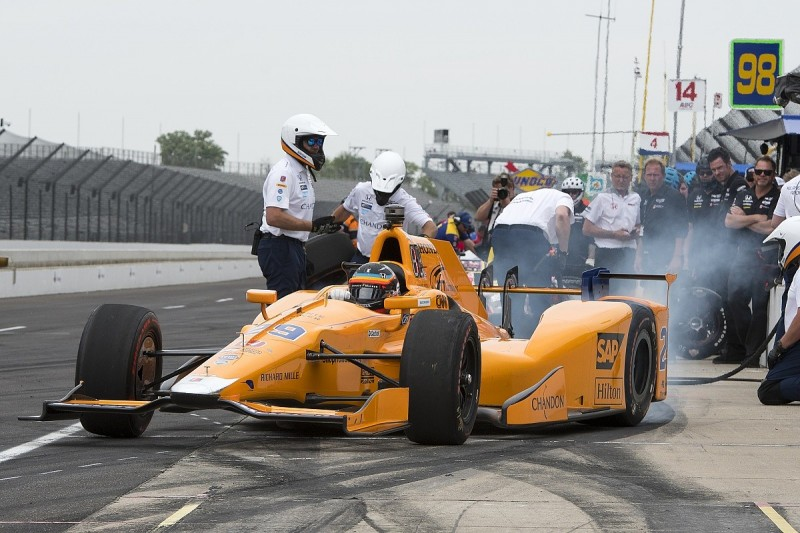Fernando Alonso to switch focus to Indy 500 qualifying
