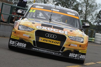 Rob Austin Audi driver Hunter Abbott to miss Knockhill BTCC round