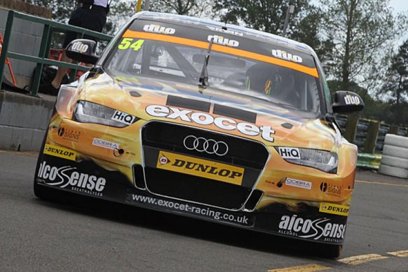 Rob Austin Audi driver Hunter Abbott to miss Knockhill BTCC round