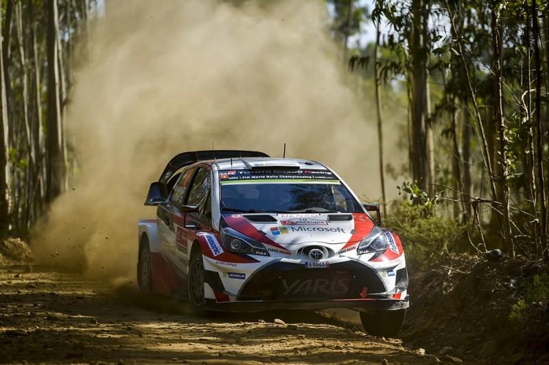 WRC Rally Portugal: Jari-Matti Latvala leads tight battle after SS4