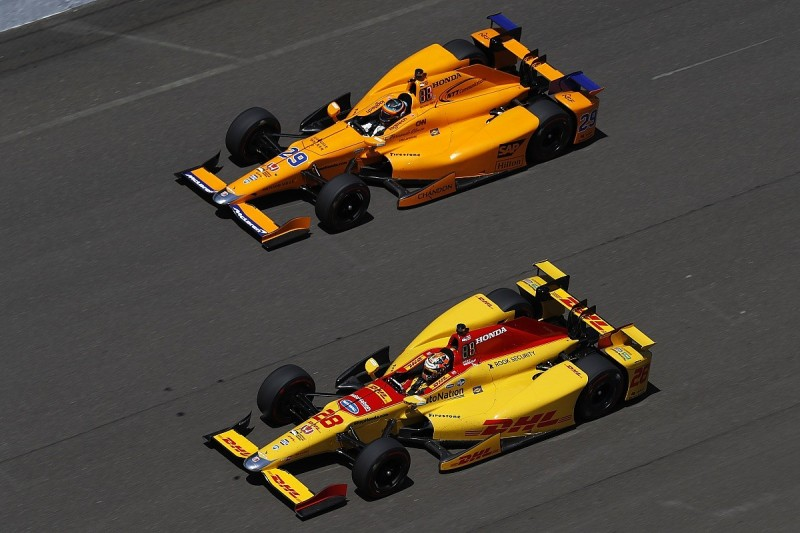 Fernando Alonso won't get help from team-mates in Indy 500