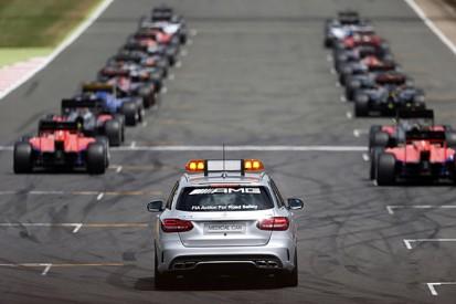 Details of Formula 1's new grand prix start rules revealed