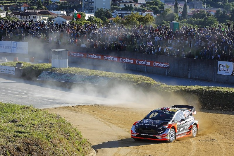 Rally Portugal: Mads Ostberg and Thierry Neuville share early lead