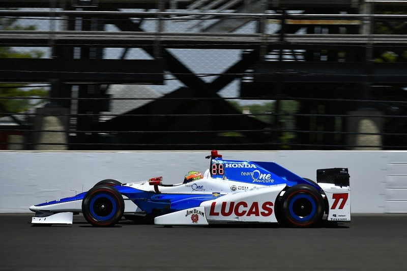 Howard tops day four of Indy 500 practice as Newgarden crashes
