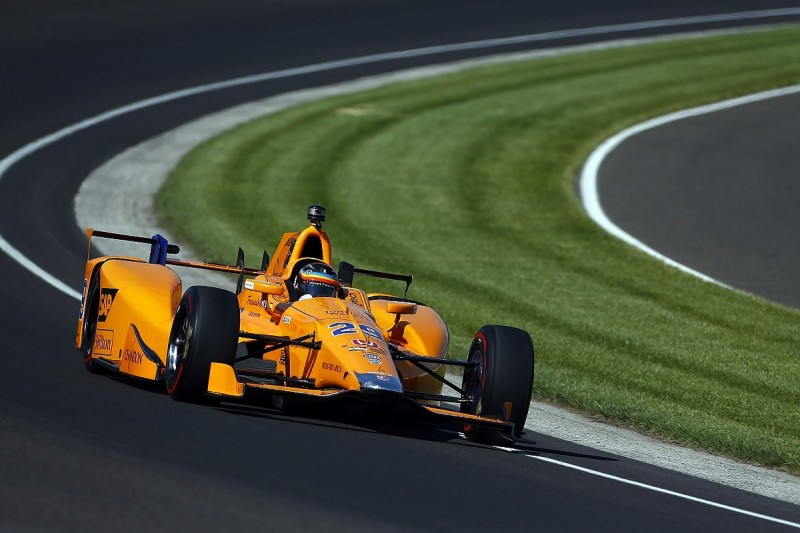 Windy Indianapolis 500 practice conditions made car tricky - Alonso