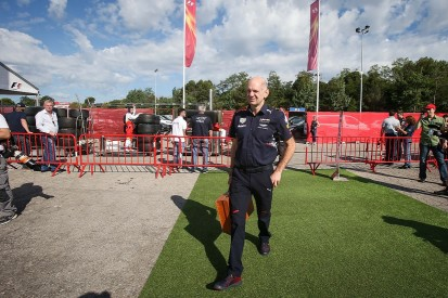 Adrian Newey increases Formula 1 role amid Red Bull's 2017 struggle