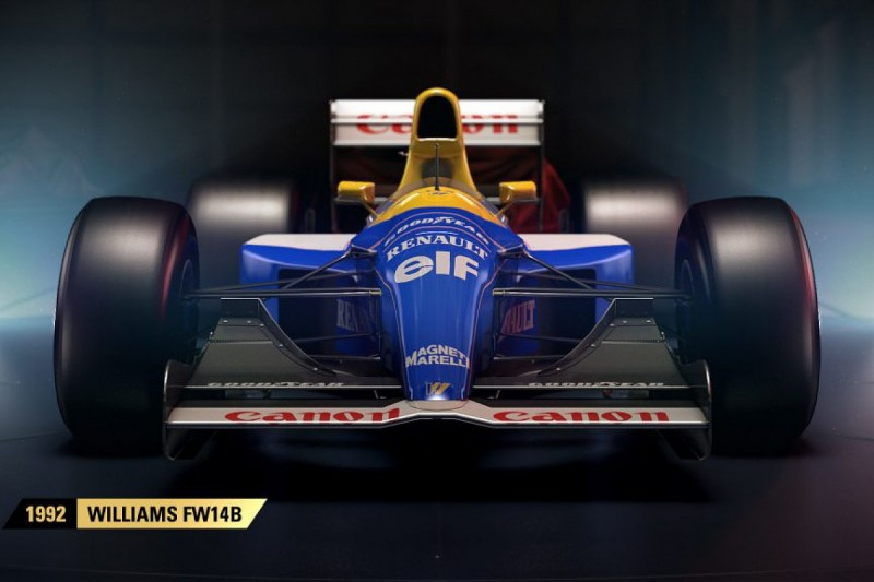 Classic cars return for latest version of Formula 1 video game