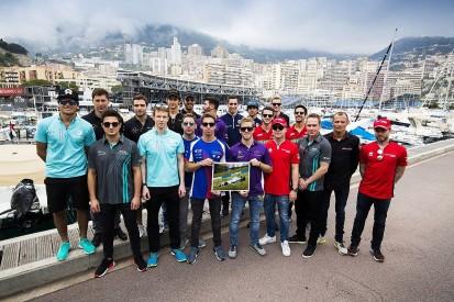Formula E drivers hold charity kart event for Billy Monger