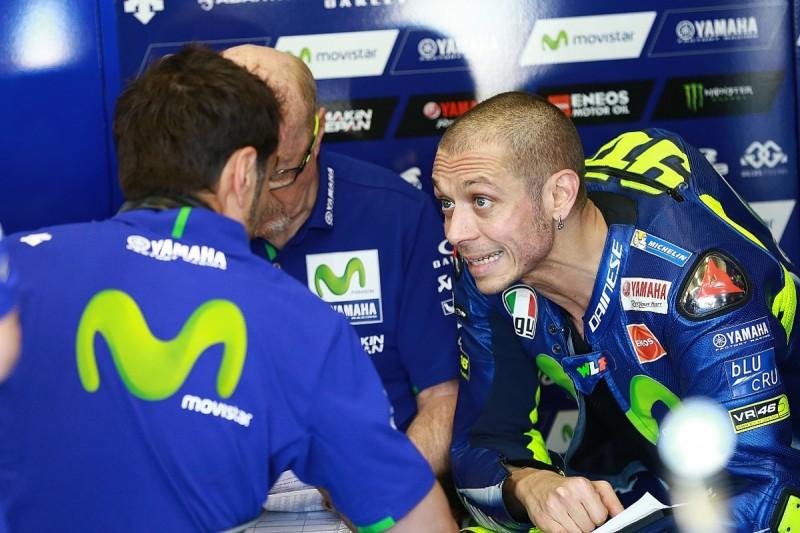 MotoGP team not on Valentino Rossi's radar yet