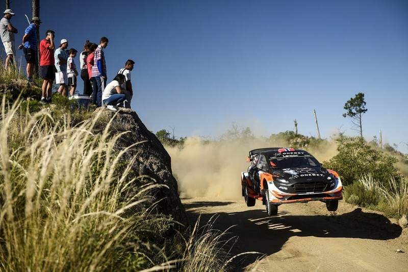 Mads Ostberg's Argentina test prompts WRC row