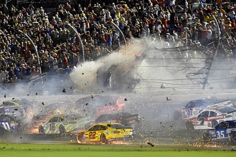 Daytona NASCAR: Dale Earnhardt Jr wins, Austin Dillon in huge crash