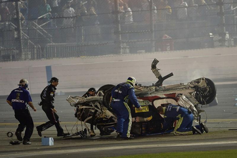 "Jimmie Johnson ""shocked Dillon is even alive"" after Daytona crash"
