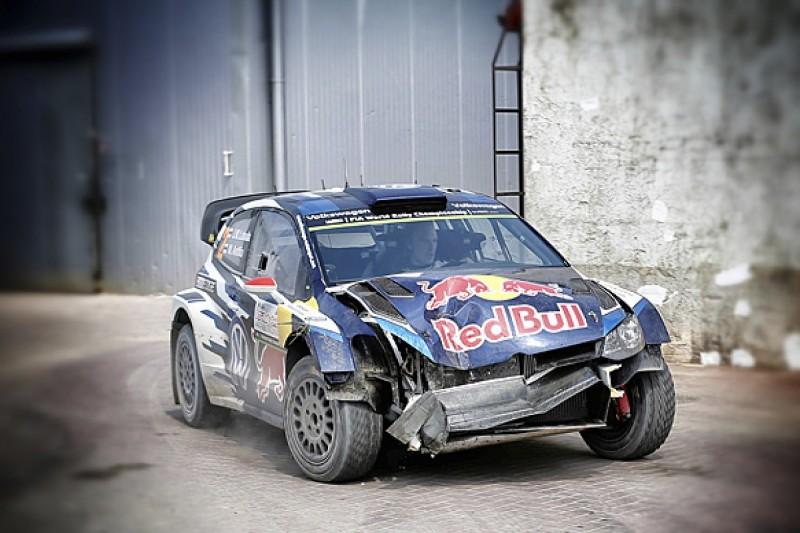 WRC Rally Poland: Jari-Matti Latvala penalised after crash repair