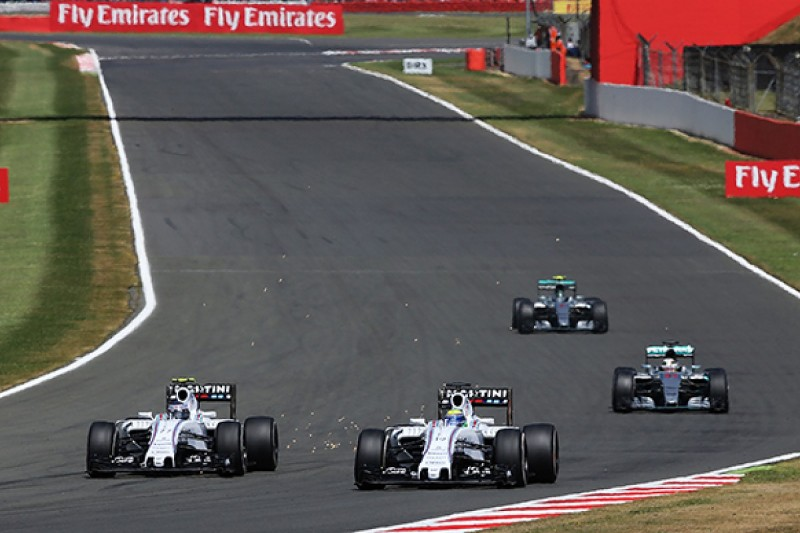 British Grand Prix: Bottas 'would have been able to pull a gap'
