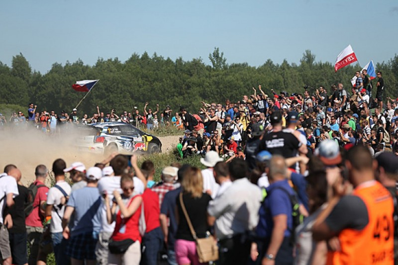 WRC Rally Poland: Sebastien Ogier fends off Andreas Mikkelsen