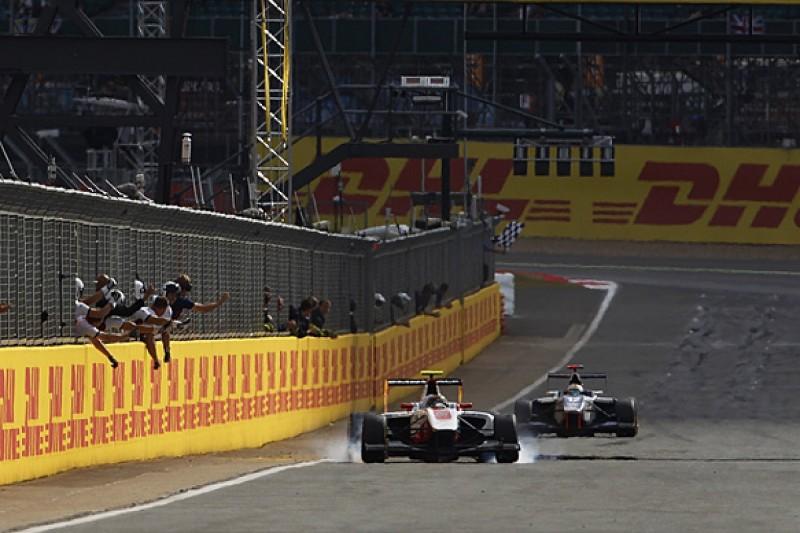 GP3 Silverstone: Kirchhoefer beats Bernstorff to race one victory
