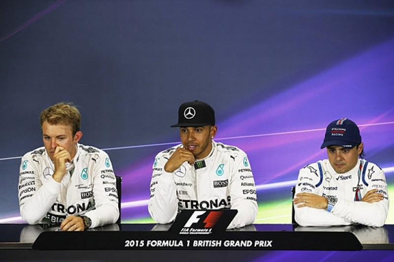 British GP: Qualifying press conference