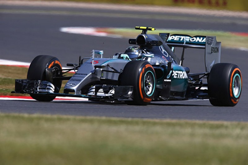 """British Grand Prix: Rosberg says """"something was very wrong"""" in Q3"""