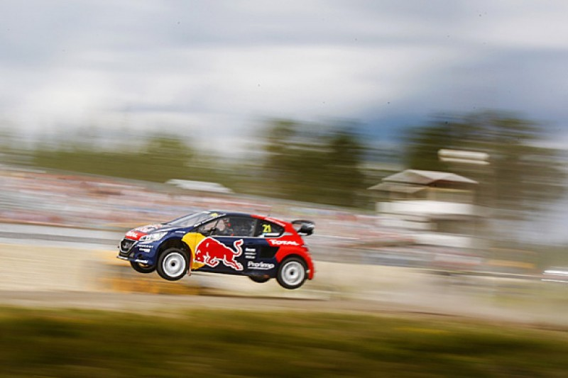 Holjes World Rallycross: Timmy Hansen leads for Peugeot-Hansen
