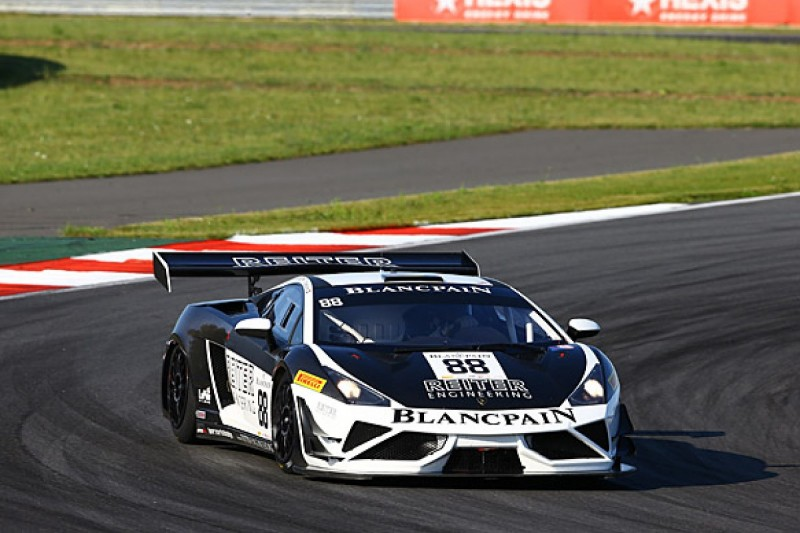 Moscow Blancpain Sprint: Catsburg puts Reiter Lamborghini on pole