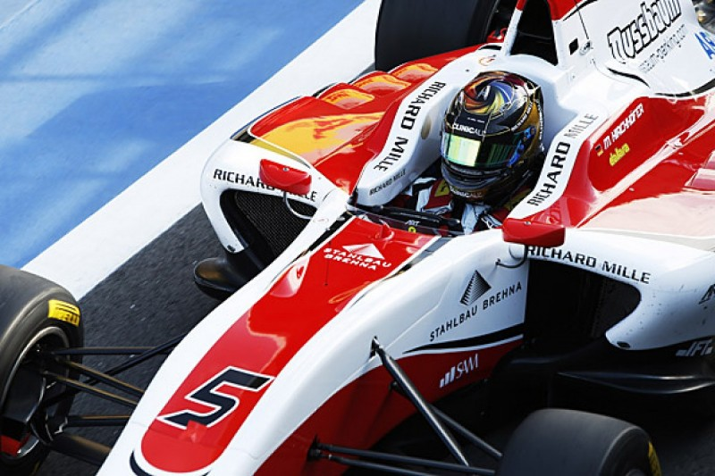 Silverstone GP3: Marvin Kirchhofer claims pole for ART Grand Prix