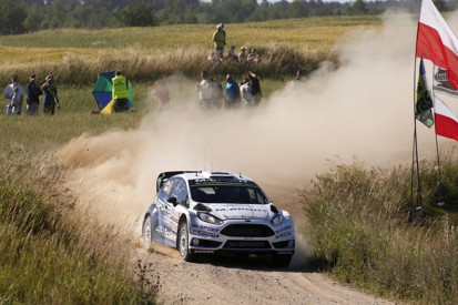Rally Poland: Ott Tanak leads for M-Sport ahead of Volkswagens