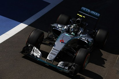 British GP: Nico Rosberg recovers from problem to top practice