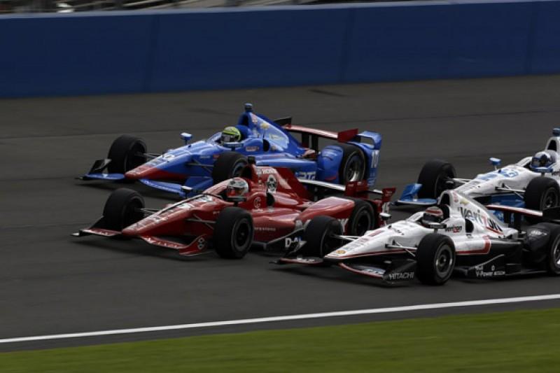 IndyCar admits Fontana 'pack race' a surprise, criticises backlash