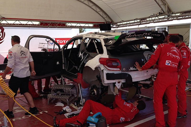 WRC Rally Poland: Meeke's Citroen can be fixed to start after crash