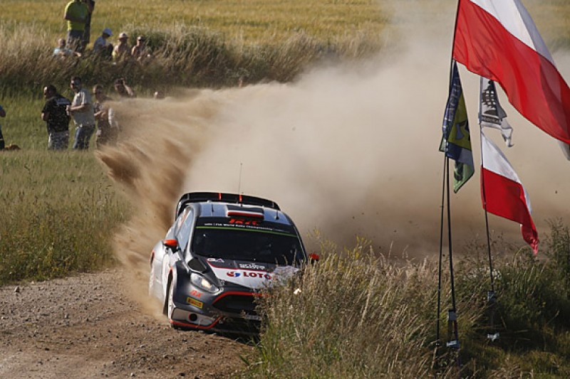 WRC Rally Poland: Robert Kubica warns fans not to expect too much