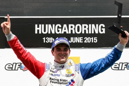 FR3.5 leader Oliver Rowland to make GP2 debut at Silverstone