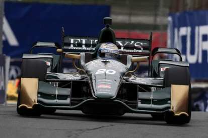 IndyCar oval debuts for Luca Filippi and Matthew Brabham in test