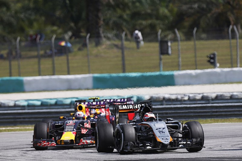 Force India now aiming to beat Red Bull to fourth in F1 standings