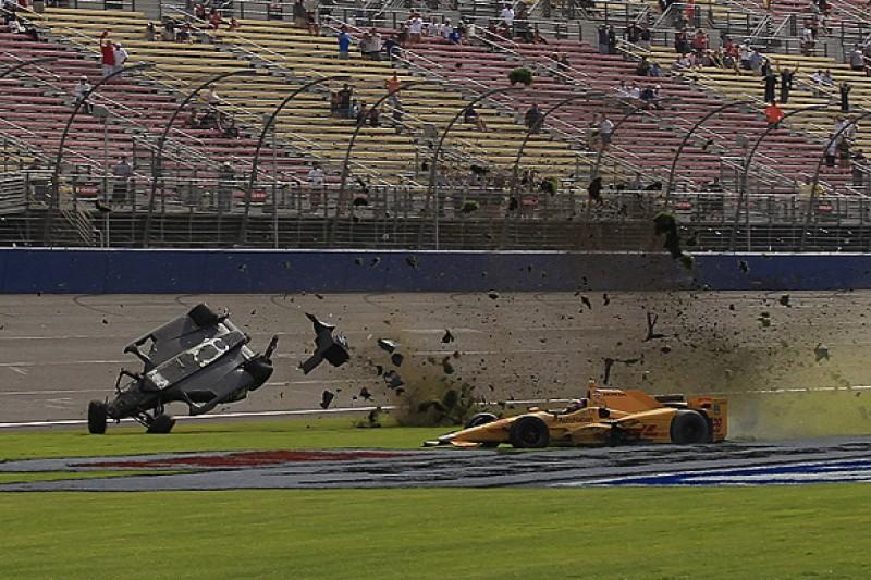 'Insane' Fontana race concerns IndyCar's Power, Montoya, Kanaan