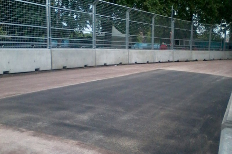 London Formula E: Battersea track repairs succeed for Sunday race