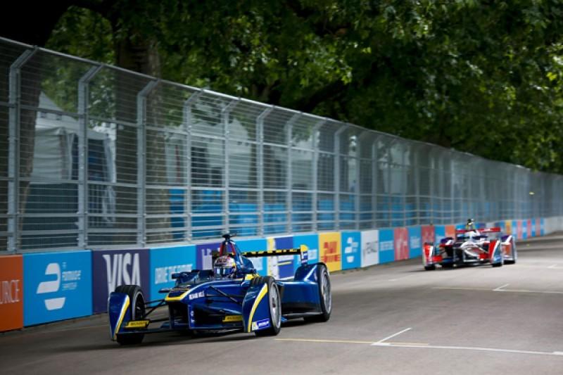 London Formula E: Sebastien Buemi leads Sunday practice
