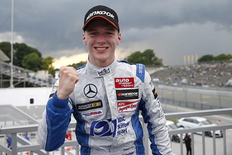 Norisring European F3: Maximilian Gunther wins from 12th on grid