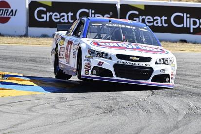Sonoma NASCAR: AJ Allmendinger takes pole ahead of Kurt Busch