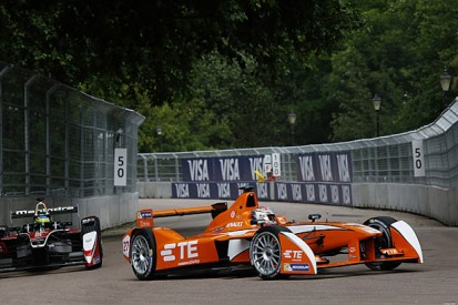 London Formula E: Jean-Eric Vergne tops practice for Andretti