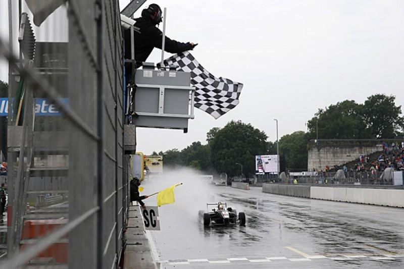 Norisring European F3: Charles Leclerc wins under safety car in wet