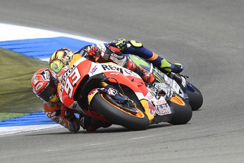 Assen MotoGP: Marc Marquez and Valentino Rossi at odds over clash
