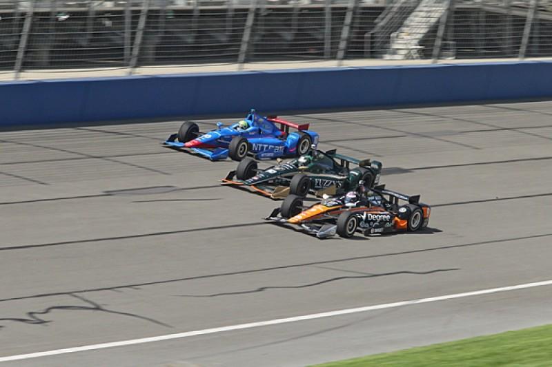 Fontana IndyCar: Scott Dixon tops practice two for Ganassi