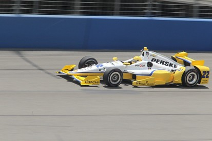 Fontana IndyCar: Pagenaud leads Castroneves in all-Penske front row