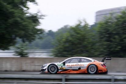 Norisring DTM: Robert Wickens fastest for Mercedes in wet practice