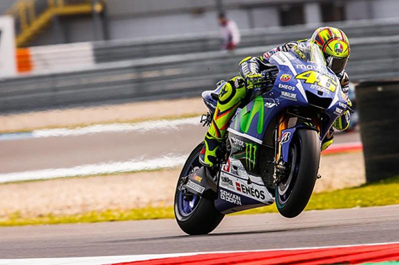 Assen MotoGP: Valentino Rossi leads Marc Marquez in first practice