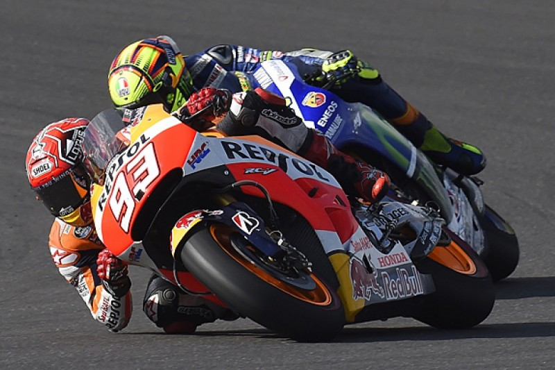 Marc Marquez and Valentino Rossi to try revised MotoGP bikes