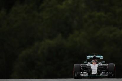 Mercedes' Wehrlein tops rain-hit first day of Austrian F1 test