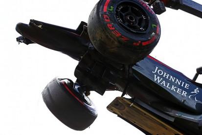 McLaren F1 test scales back test plan after Fernando Alonso's crash