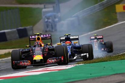 Austrian GP: Daniil Kvyat says driving damaged Red Bull 'like hell'